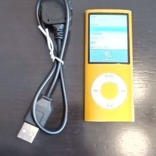 第4世代ipod nano 8GB オレンジ[中古]