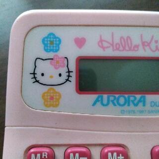 Hello  Kitty  キティちゃん電卓 ピンク