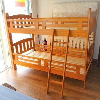 USED 木製2段ベッド