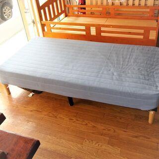 USED ニトリ シングルマットレスベッド