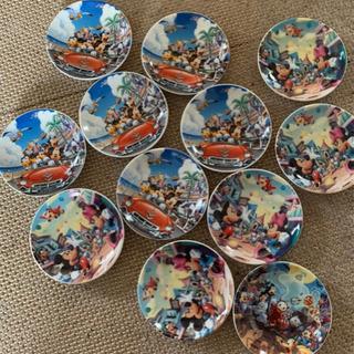 ディズニー ミッキー ドナルド 小皿 12枚セット