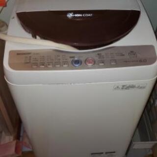 シャープ洗濯機6キロ