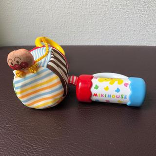 出産準備 おもちゃ×2 アンパンマン Mikihouse