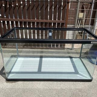 【値下げ】水槽 90センチ曲面ガラス