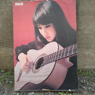 藤圭子さんのポスターのようなもの