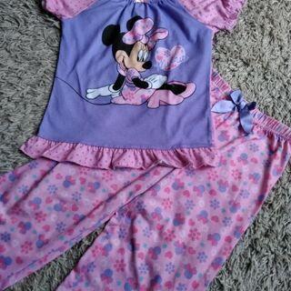 ピンク ミニー 半袖パジャマ サイズ120