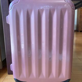 スーツケース TSAロック くすみピンク