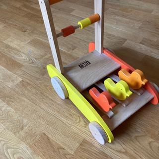 木製押し車