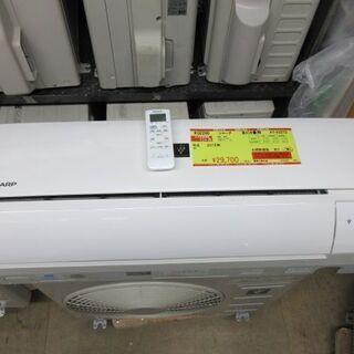 K02290 シャープ 中古エアコン 主に6畳用 冷2.2kw/...