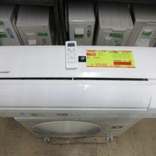 K02293 シャープ 中古エアコン 主に6畳用 冷2.2kw/...
