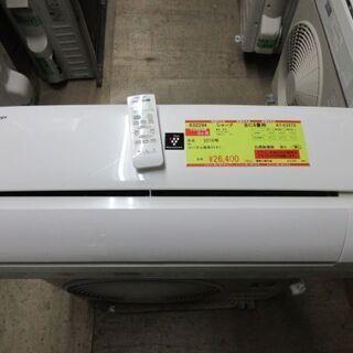 K02294 シャープ 中古エアコン 主に6畳用 冷2.2kw/...