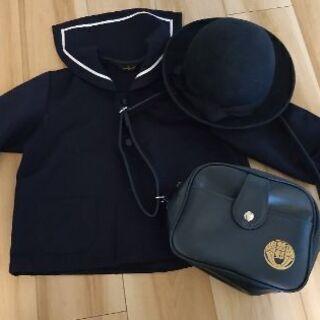 曽野幼稚園 制服、帽子M、鞄