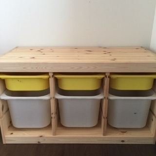 1セット IKEA トロファスト イケア 収納棚 おもちゃ…