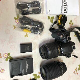 Nikon D3100 レンズキット デジタル一眼レフカメ…