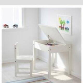 【ネット決済】IKEA SUNDVIK 子供用デスク&チェア