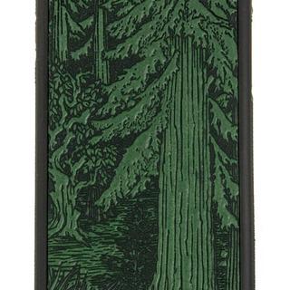 iPhoneケース iPhone 7 本革(緑、森)