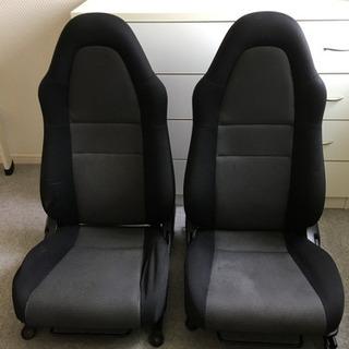 車 シート(運転席、助手席)2つセット