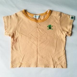 3can4on / ボーダー柄Tシャツ / 80サイズ