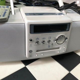 KENWOOD  CD MD ラジオ プレイヤー⭐︎
