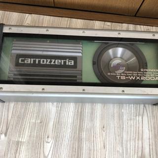 TS-WX200A パイオニア  ウーファー