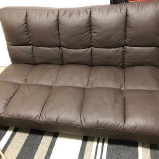 2人掛けソファ無料で差し上げます