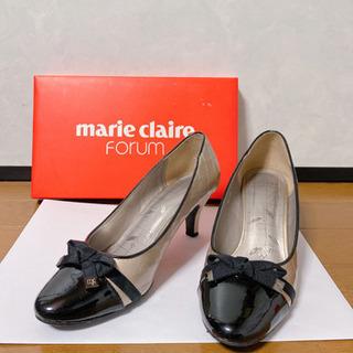 marie claire パンプス(シャンパンゴールド)