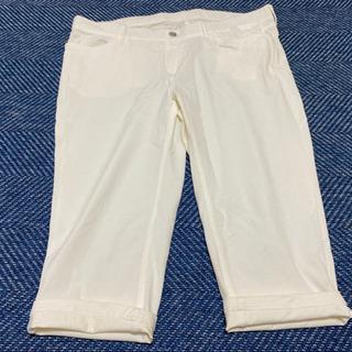 ホワイト パンツ 4L 美品
