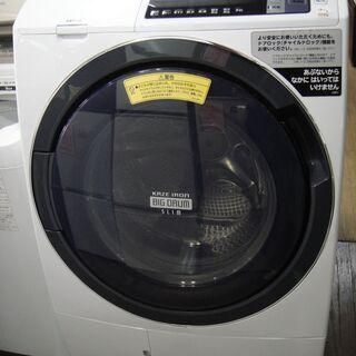 2018年製 日立 電気洗濯乾燥機BD-TS100ALビッグドラ...