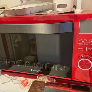 使用して3ヶ月未満  マイクロ波とオーブン机能が一体となった電子レンジ
