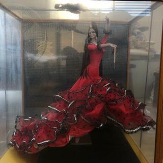フラメンコの置き人形
