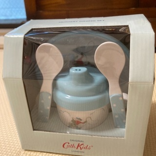 Cathkidston ベビー用 食器セット スプーン マグ