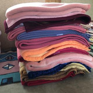 中古の毛布(使用頻度少) 実家整理品 第一段