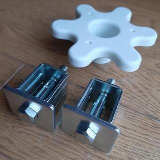 パナソニック洗濯機の輸送用固定金具と専用スパナ セット