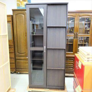 USED ブックディスプレイ付き本棚