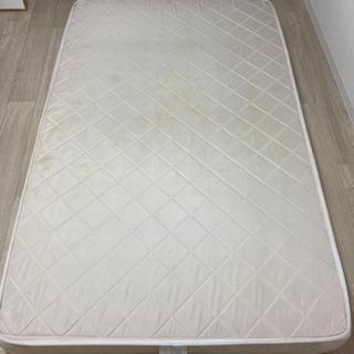 ベッド マットレス 幅100cm シングル 1人暮らし 2…