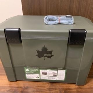 【ネット決済】ロゴス クーラーボックス  35L 未使用品 保冷剤付き