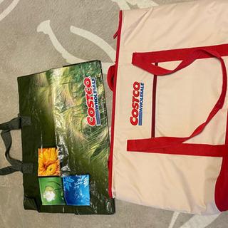 Costco保冷バッグと普通のエコバッグ