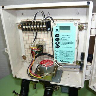 【浄化槽ブレーカー】散気・逆洗 切り替え装置 ブロワ エアポンプ 安永製?の画像