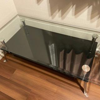 あげます!スタイリッシュガラステーブル