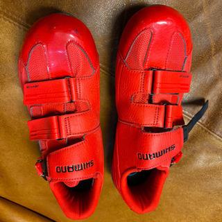 ロードバイク用の靴です。