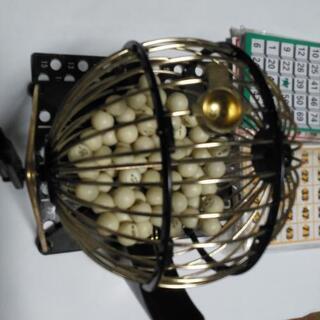 ビンゴゲーム機の画像