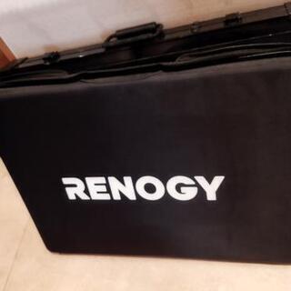 レノジー製 折り畳みソーラーパネル100W