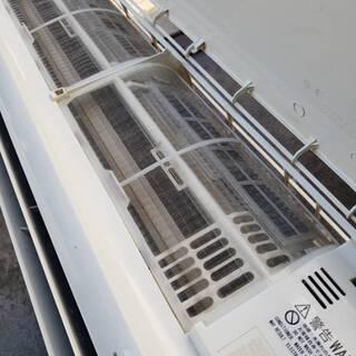 【早割!!】6~9畳用エアコン・1年保証・2015年製・取付工事込み!!【№13】 - 家電
