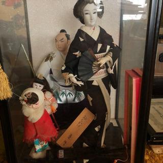 古い博多人形?その他差し上げます。ケース付き。