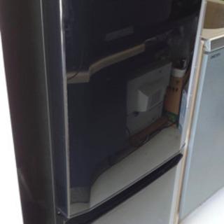 MITSUBISHI MR-P15Z-B 三菱 冷凍冷蔵庫 黒
