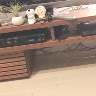 【ネット決済】北欧風お洒落なテレビ台 ウッド 使用期間4年以内