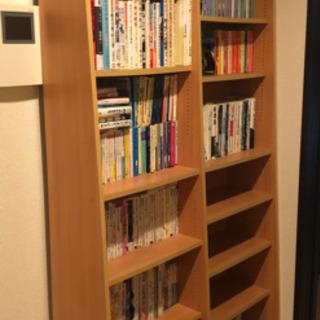 本棚・ナチュラル・0円お譲りします。