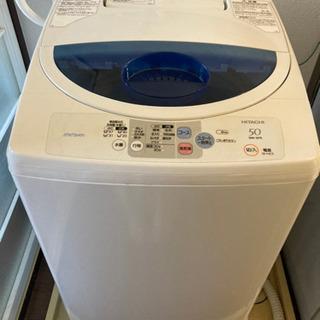 進行中)日立 洗濯機2007年製