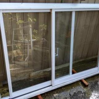 DIY 防音アルミサッシ  二連引き違い窓