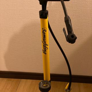 スポーツバイク用空気入れ2000円で譲ります。